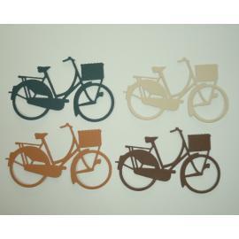Хартиени елементи- велосипеди