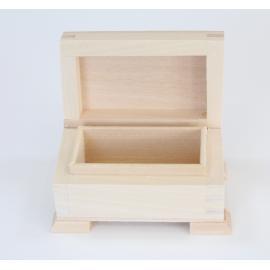 Дървено ковчеже 8,4х5,4х5,4