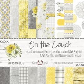 Дизайнерска хартия, блокче 6x6-On the Couch