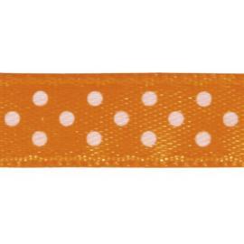Панделка на точки - оранжева