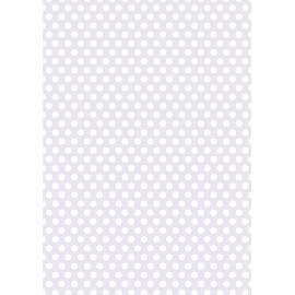 Дизайнерска хартия, А4 - Средни точки, лилаво 3
