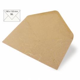 Японска хартия, плик, бежово