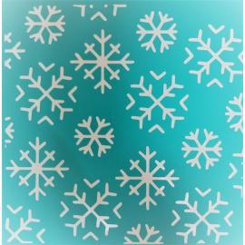 Шаблон за декупаж - снежинки