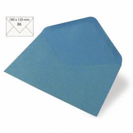Японска хартия, плик, синьо