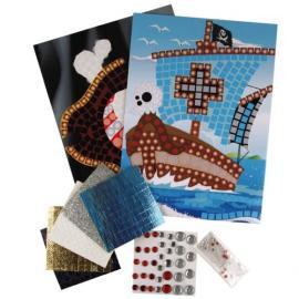 Комплект стикери мозайка - Пирати