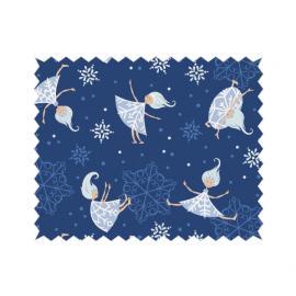 Tante Ema - памучен плат с феички