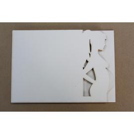 """""""Бирен картон - заготовка за албум """"""""бременна"""""""" 2"""""""