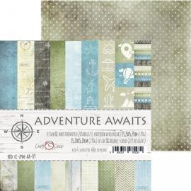 Дизайнерска хартия, блокче 6х6 - Adventure Awaits