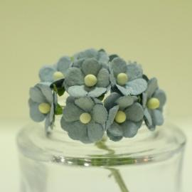 Декоративни цветенца - мини, светлосини