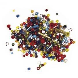 Стъклени мъниста,топчета и тръбички