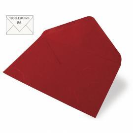 Японска хартия, плик, червено