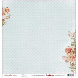 Дизайнерска хартия, лист пеперуди