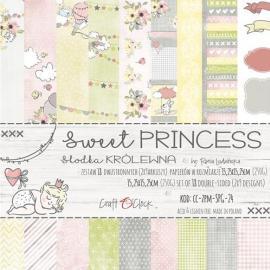 Дизайнерска хартия, блокчe - Sweet Princess, 6x6 инча