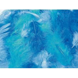 Пера - тъмно сини, микс