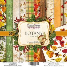 Дизайнерска хартия, блокче Botany Autumn 8x8 инча