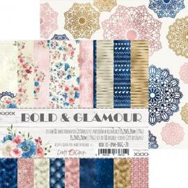 Дизайнерска хартия, блокче 6x6-Bold and Glamour