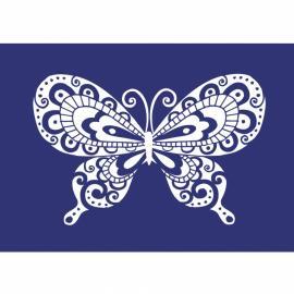 Шаблон за текстил-пеперуда