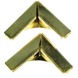 Метални ъгълчета, златни, големи