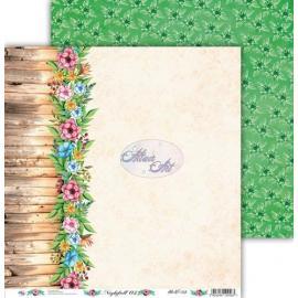 Дизайнерска хартия, лист - Nightfall 3