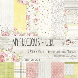 Дизайнерска хартия, блокче 12x12- My Precious Girl