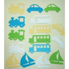 Хартиени елементи- превозни средства