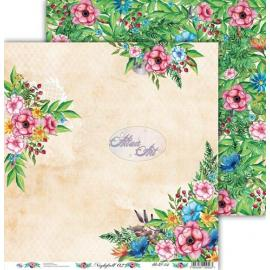 Дизайнерска хартия, лист - Nightfall 2