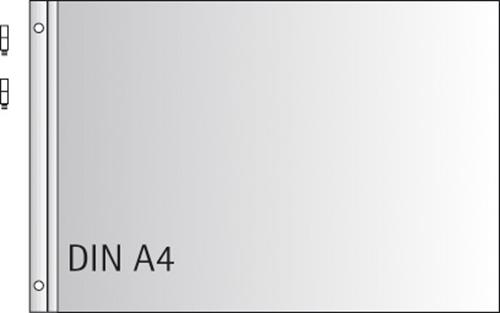 Резервни листи за класьор А4, 10бр.