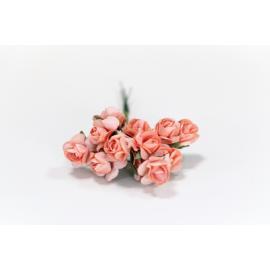 Хартиени розички15 мм, 12 бр, праскова
