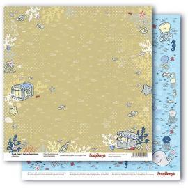 Дизайнерска хартия - Морски приключения 5