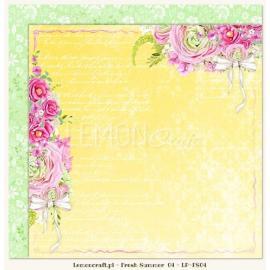 Дизайнерска хартия, лист - Fresh summer 04