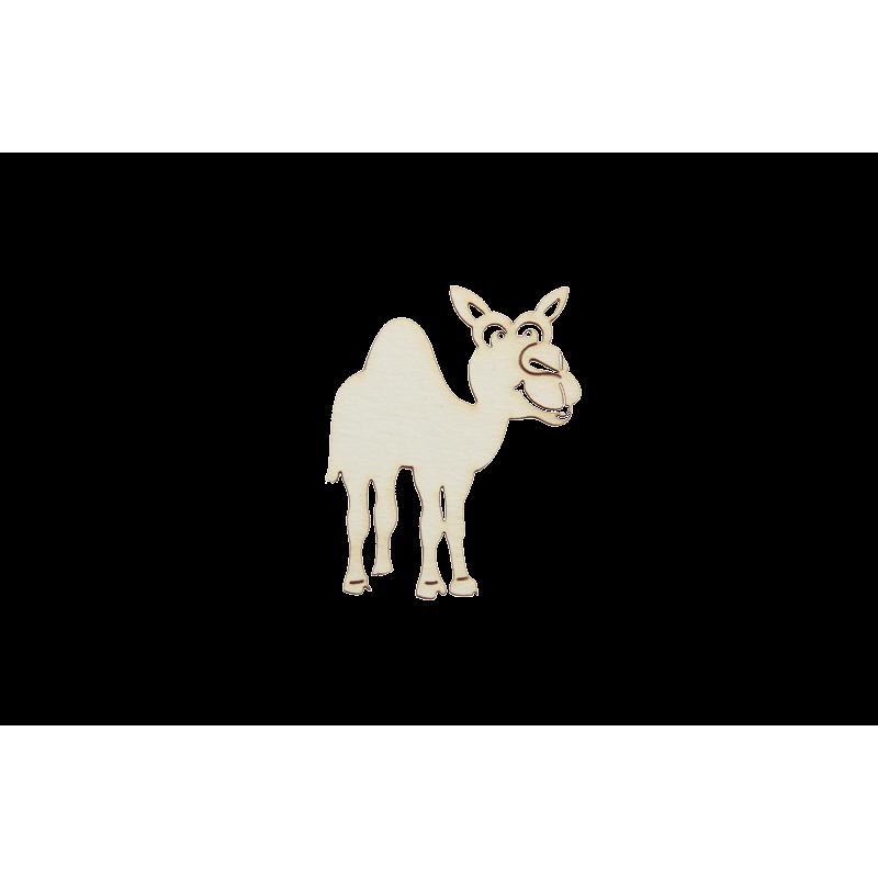 Бирен картон - животинче камила