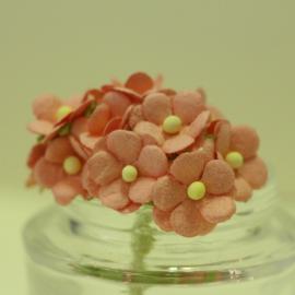 Декоративни цветенца - мини, бледорозови