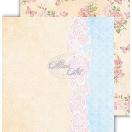 Дизайнерска хартия, лист - Flower Harmony 5