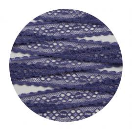 Дантела, 10м - лилава