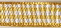 Карирана панделка - жълта
