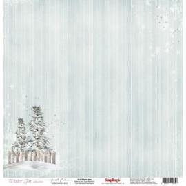 Дизайнерска хартия, лист Зимно забавление 9
