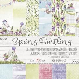 Дизайнерска хартия, блокче 12x12- Spring Bustling