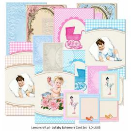 Картончета за картички Lullaby