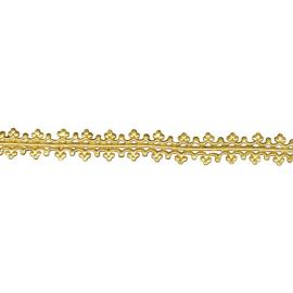 Стикери за свещи, злато, 1,6 х 15 см