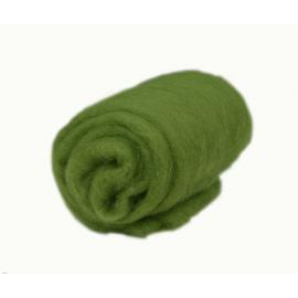 Вълна 50 г фина - зелена