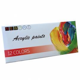 Акрилни бои, комплект 12х12 мл