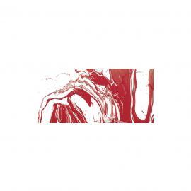 Мраморна боя-червена