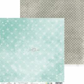 Дизайнерска хартия, 12x12 - My Cat Friend 4
