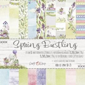 Дизайнерска хартия, блокче 6x6- Spring Bustling