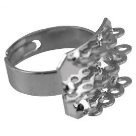 Основа за пръстен с 14 ушенца