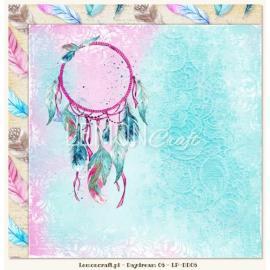 Дизайнерска хартия, лист - Daydream 06