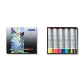 Акварелни моливи, 24 цвята
