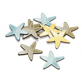Декоративни елементи - морски звездички, 12 броя