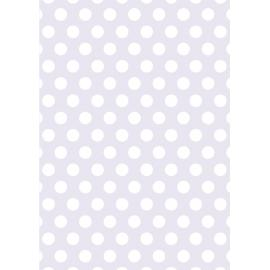 Дизайнерска хартия, А4 - Големи точки, лилаво 3