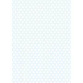 Дизайнерска хартия, А4 - Средни точки, синьо 3